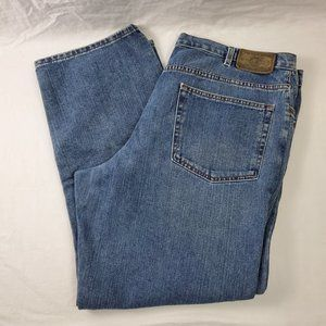Eddie Bauer Relaxed Fit Men's Jeans 40 x 30 Blue